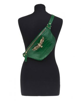 Thalia-Small-Bag-Green-Croco-1