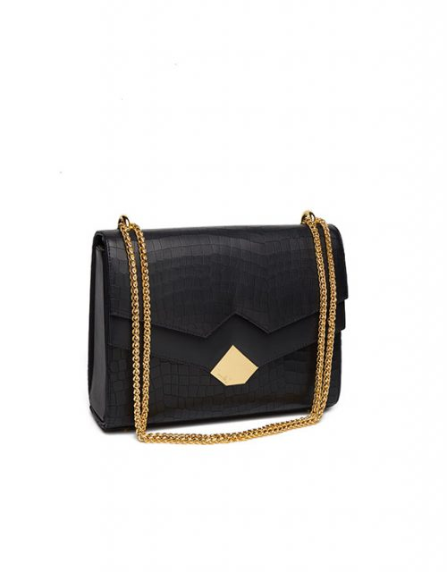 Chou-Bag-Black-Croco-image
