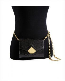 Chou-Bag-Black-(Croco-Print)