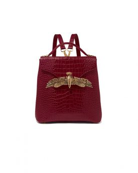 Eagle-Backpack-Burgundy-Croco-001
