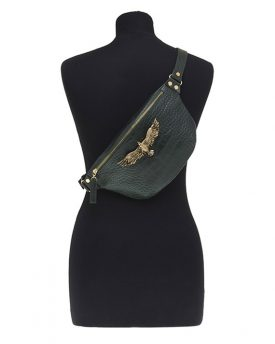 Thalia-Small-Bag-Olive-Green-Croco-1